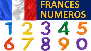 los numeros en frances